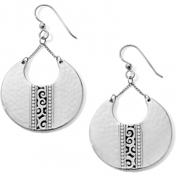 Mingle Mingle Disc Large French Wire Earrings