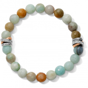 Neptune's Rings Amazonite Stretch Bracelet