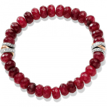 Neptune's Rings Ruby Stretch Bracelet