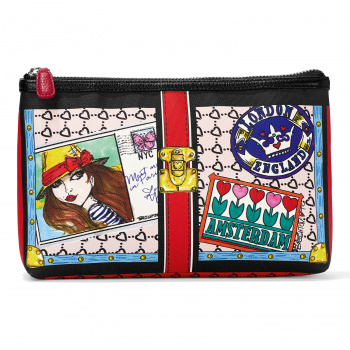 Fashionista Fashion Lux Cosmetic Pouch