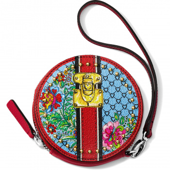 Fashion Lux Round Coin Purse