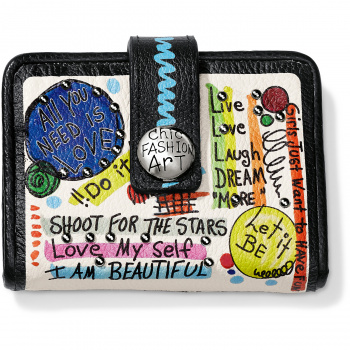 Fashionista Shout It Out Small Wallet
