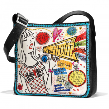 Shout It Out Shoulder Bag