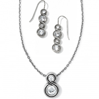 Infinity Sparkle Petite Necklace Gift Set