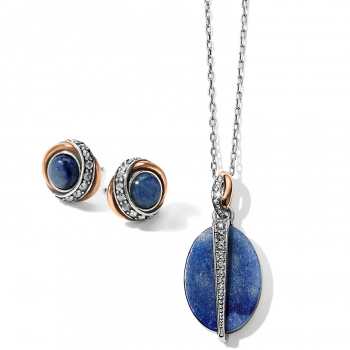 Neptune's Rings Oval Necklace Gift Set