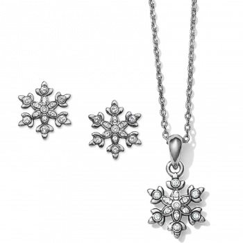 Snowflake Dazzle Necklace Gift Set