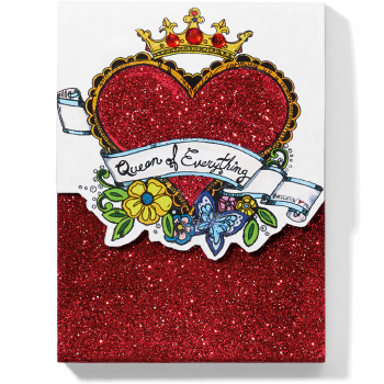 Fashionista Queen Of Everything Notepad