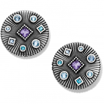 Halo Halo Rays Round Post Earrings