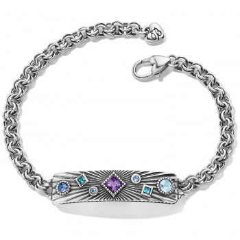 Halo Rays Plaque Bracelet