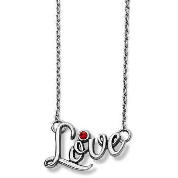 Penscript Love Necklace