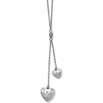 Stellar Heart Y Necklace