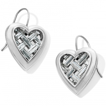Love Cage Love Cage Heart French Wire Earrings