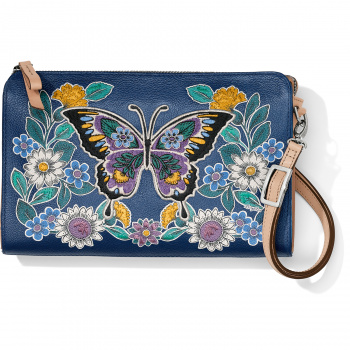 The Botanical Embroidered Pouch