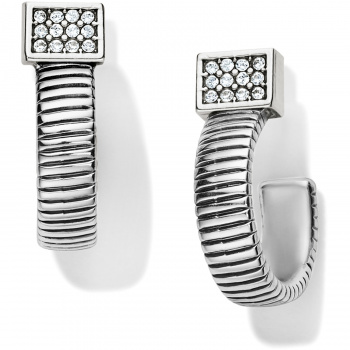 Meridian Zenith Tubogas Hoop Earrings