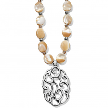 Barbados Nuvola Shell Long Necklace