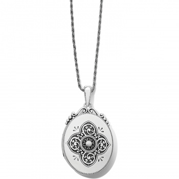 Brighton's Love Lockets Etoile Oval Convertible Locket Necklace