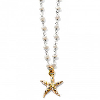 SEA SHORE Sea Shore Petite Starfish Necklace