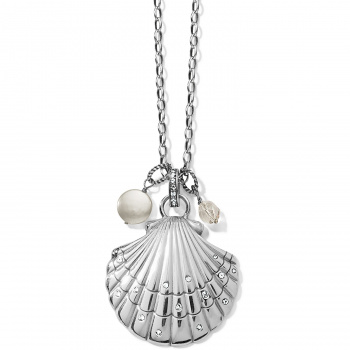 SEA SHORE Sea Shore Scallop Shell Convertible Necklace