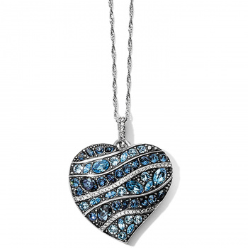 Trust Your Journey Trust Your Journey Wave Convertible Reversible Heart Necklace