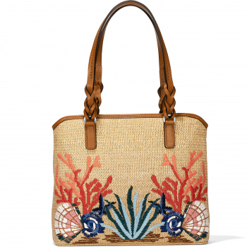 SEA SHORE June Straw Tote