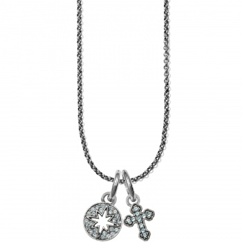 Star Cross Highlight Amulet Necklace