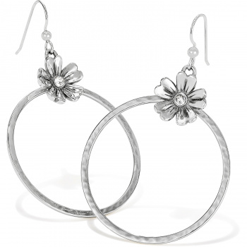 Flora Flora French Wire Hoop Earrings