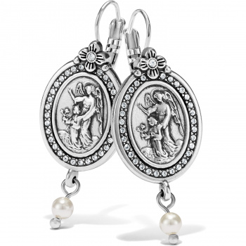 Guardian Angel Leverback Earrings