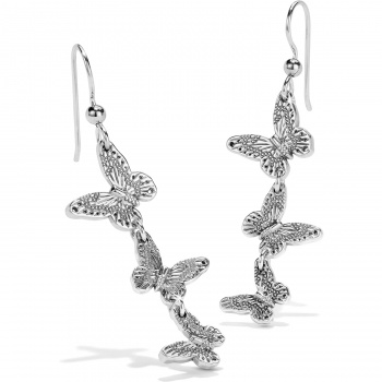 Solstice Solstice Bloom Butterfly French Wire Earrings