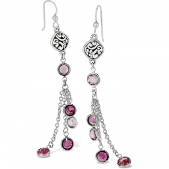 Elora Elora Gems French Wire Earrings