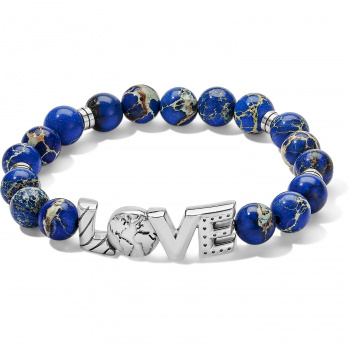 Love Earth Stretch Bracelet