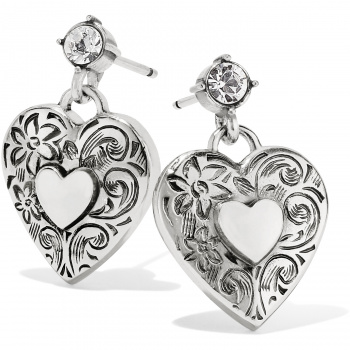 One Heart One Heart Post Earrings
