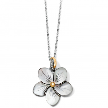Neptune's Rings Shell Flower Necklace