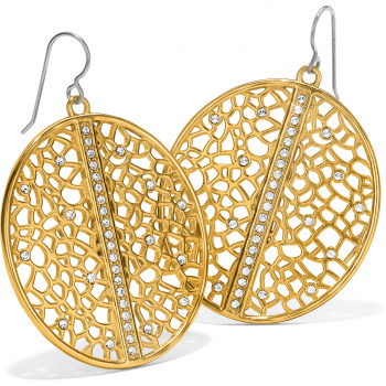 Fiji Sparkle French Wire Earrings