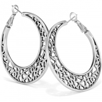 Fiji Fiji Sparkle Hoop Earrings