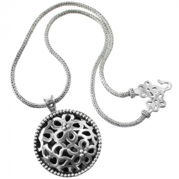 Bali Lacy Daisy Pendant Necklace