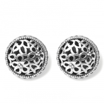 Bali Lacy Daisy Clip Earrings