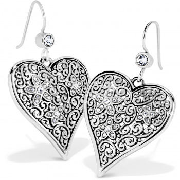 Baroness Baroness Fiori Heart French Wire Earrings