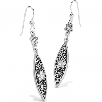 Baroness Baroness Fiori Marquise French Wire Earrings