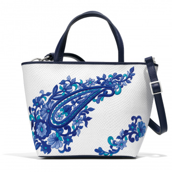 Journey to India Shira Small Embroidered Tote