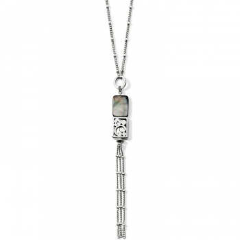 Contempo Shell Tassel Necklace
