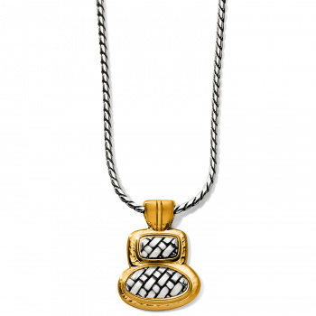 Ferrara Ferrara Artisan Two Tone Duo Necklace