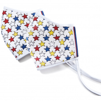 Patriotic Stars Mask Set (2 pack)