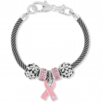 Power Of Pink Blooms Bracelet