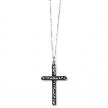 Moonlight Garden Convertible Cross Necklace