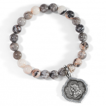 Joan Of Arc Stretch Bracelet