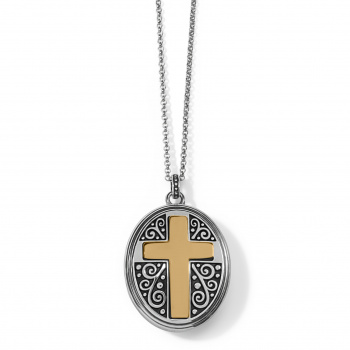 Crossroads Convertible Locket Necklace