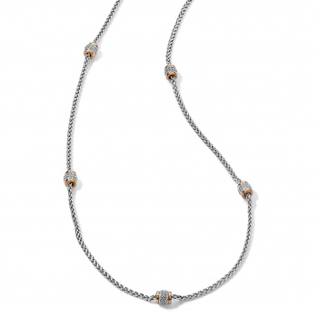 Meridian Meridian Two Tone Long Necklace
