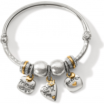 Best Friends Hinged Bangle