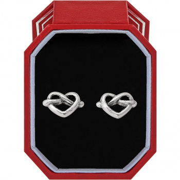 Heart Loop Post Earrings Box Set