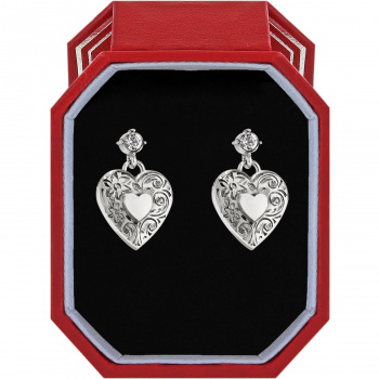 One Heart Post Earrings Box Set